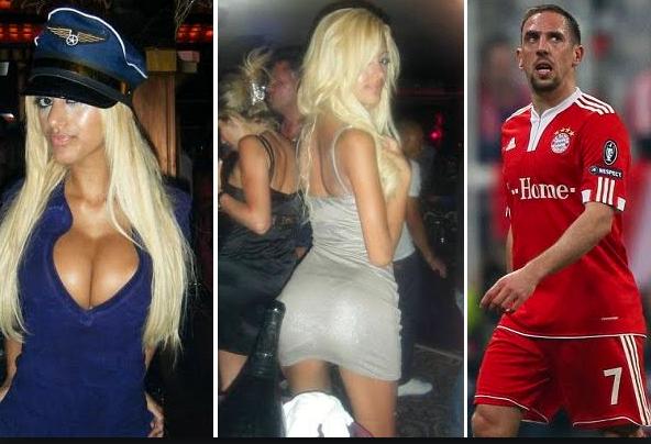 Piłkarskie skandale-Ribery