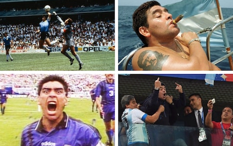 Piłkarskie skandale-Maradona